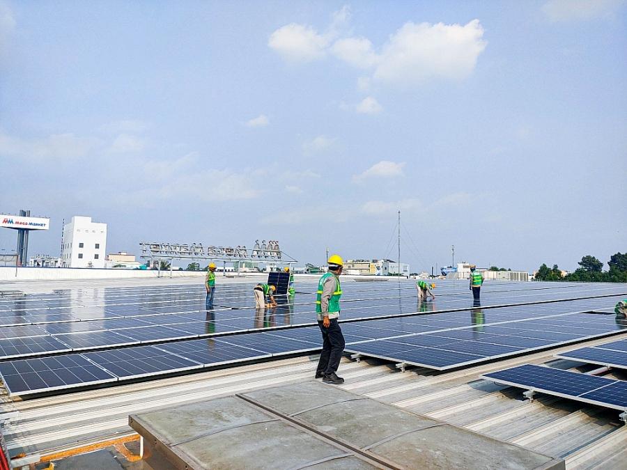 Sau khi kết thúc giai đoạn 1 tại 12 trung tâm, công suất sẽ là 5.101 kWp, sẽ tạo ra tới 6.845 MWh mỗi năm (1)