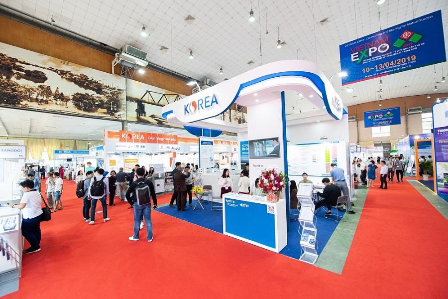 Hơn 50 doanh nghiệp Hàn Quốc tham dự Hội chợ Vietnam EXPO 2021