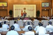 Ủy ban Thường vụ Quốc hội cho ý kiến về nội dung kỳ họp thứ 3