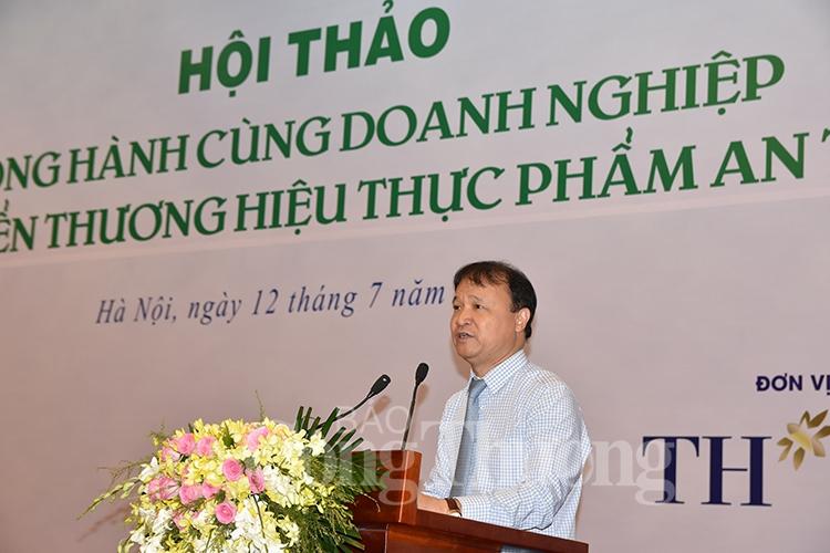 dong hanh cung doanh nghiep phat trien thuong hieu thuc pham an toan