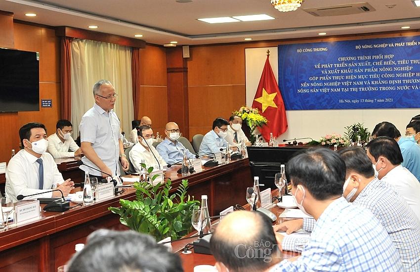 Chung tay khẳng định thương hiệu nông sản Việt Nam