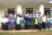 Theo chân Bí thư huyện ủy Si Ma Cai đối thoại với dân