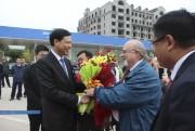 """Quảng Ninh chào đón đoàn khách du lịch đến """"xông"""" Vịnh Hạ Long năm 2018"""