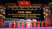Quảng Ninh: Khai mạc Hội chợ OCOP Quảng Ninh - Xuân 2018