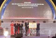 Đền Cửa Ông đón nhận Bằng xếp hạng Di tích lịch sử quốc gia đặc biệt