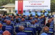 Tỉnh Quảng Ninh và TKV phát động tháng hành động ATVSLĐ năm 2018