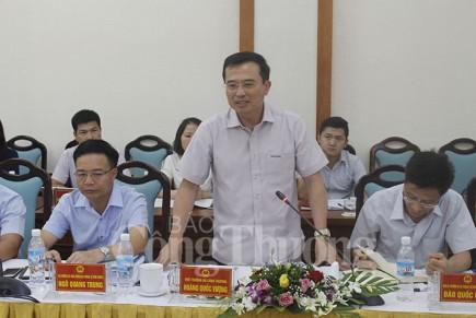 Đoàn công tác Bộ Công Thương làm việc với tỉnh Quảng Ninh