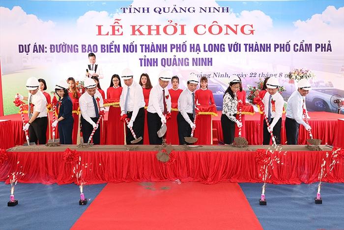quang ninh khoi cong duong bao bien ha long cam pha