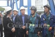 Phó Bí thư Thường trực tỉnh ủy Quảng Ninh làm việc với Đảng ủy Than Quảng Ninh