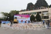 QLTT Quảng Ninh: Tiêu hủy hàng giả, hàng cấm trị giá gần 2 tỷ đồng