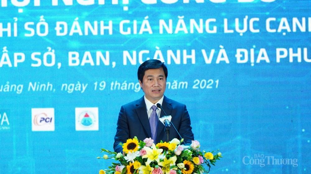 Ông Nguyễn Tường Văn – Chủ tịch UBND tỉnh Quảng Ninh đánh giá hội nghị có tác dụng lan tỏa sâu rộng động lực cải cách tới các cán bộ, công chức, viên chức trên địa bàn toàn tỉnh