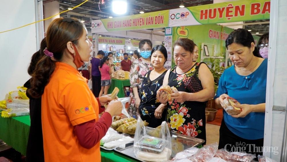 Khoảng 320 gian hàng tham gia Hội chợ OCOP Quảng Ninh - Hè 2021