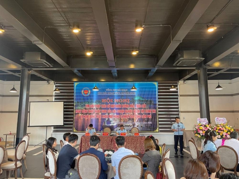 Nhiều buổi gặp mặt các doanh nghiệp được Cục Hải quan Quảng Ninh tổ chức nhằm tìm giải pháp tháo gỡ những khó khăn còn tồn tại