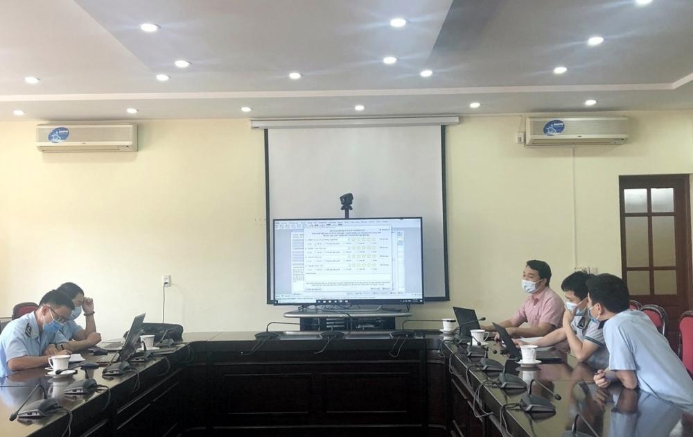 Công ty TNHH Phát triển công nghệ Thái Sơn hướng dẫn vận hành thử nghiệm Hệ thống trong ngày 4/5