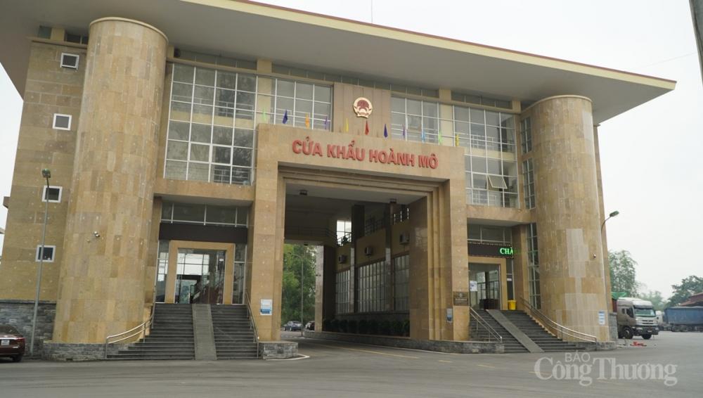 Kim ngạch xuất nhập khẩu tại cửa khẩu Hoành Mô trong 5 tháng đầu năm 2021 tăng mạnh