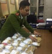 Bắt vụ buôn bán, vận chuyển trải phép vàng giá trị 1 triệu USD