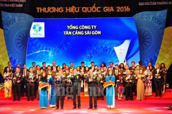 vinh danh 88 doanh nghiep dat thuong hieu quoc gia 2016