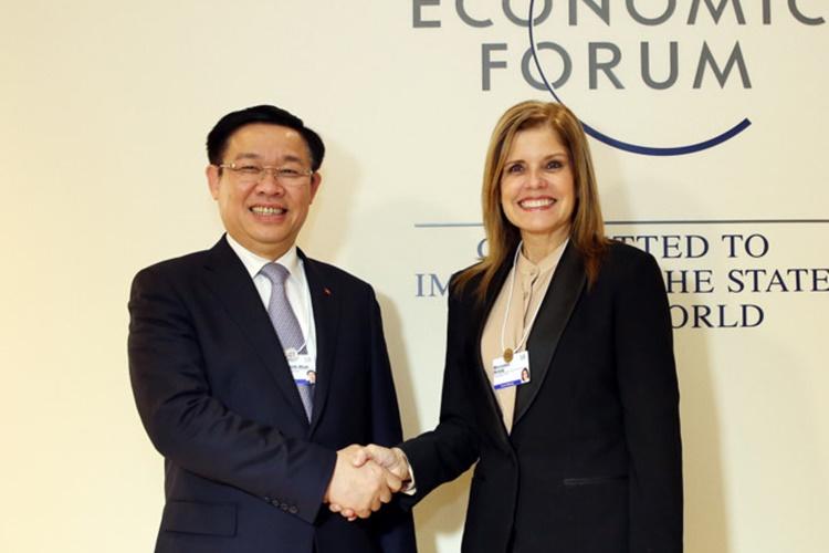 Tăng cường quan hệ ngoại giao, kinh tế, đầu tư bên lề WEF 2018