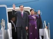 Chủ tịch nước Trần Đại Quang bắt đầu chuyến thăm Bangladesh