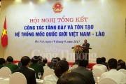 Công trình hệ thống mốc quốc giới Việt Nam – Lào là tài sản vô giá cho thế hệ sau