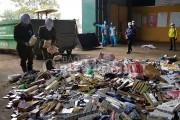 Hà Nội tiêu hủy gần 15 tấn hàng lậu