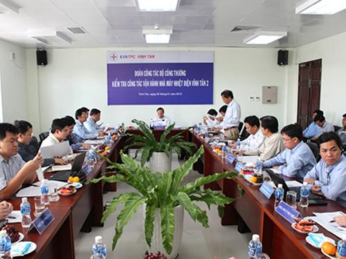 Thứ trưởng Cao Quốc Hưng kiểm tra một số dự án điện trọng điểm