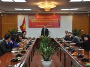 Thứ trưởng Đỗ Thắng Hải gặp gỡ chúc Tết các cơ quan báo chí của Bộ