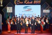67 sản phẩm, dịch vụ đạt danh hiệu Sao Khuê 2015