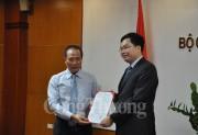 Bộ Công Thương bổ nhiệm Vụ trưởng Vụ Khoa học và Công nghệ