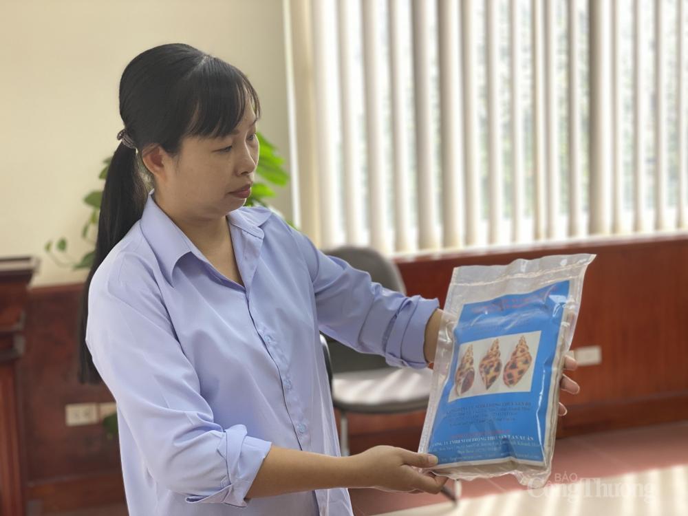 Việt Nam tiên phong nghiên cứu công nghệ sản xuất thức ăn công nghiệp cho ốc hương