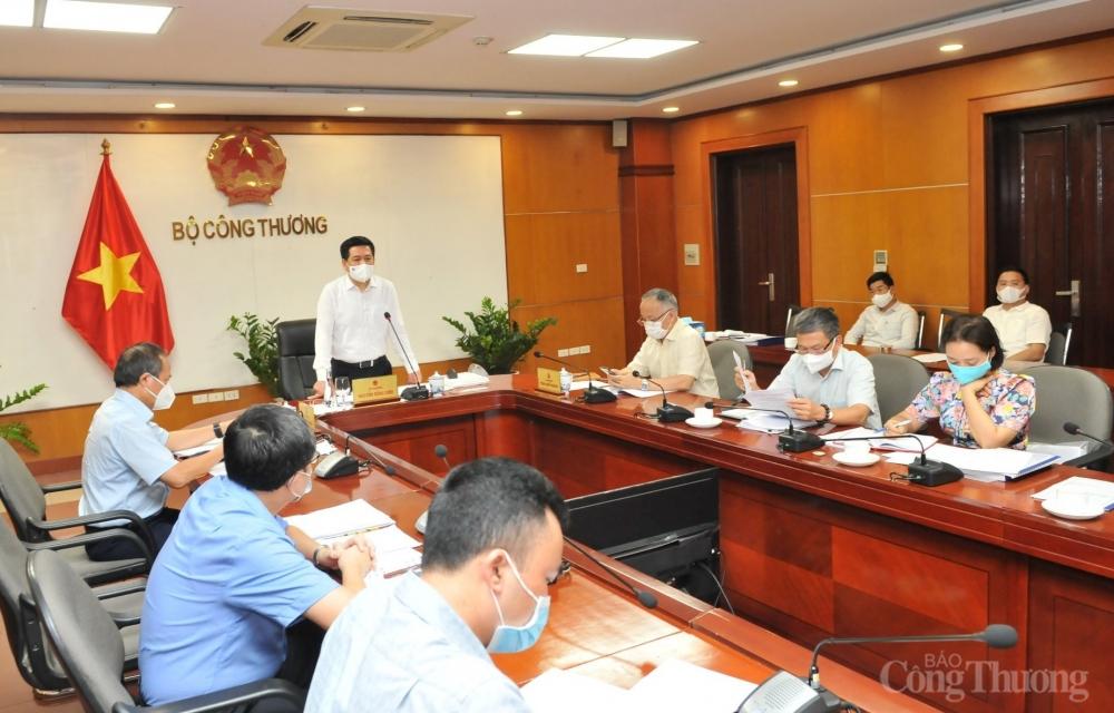 Bộ trưởng Bộ Công Thương Nguyễn Hồng Diên chủ trì buổi làm việc trực tuyến với 13 viện nghiên cứu thuộc Bộ Công Thương