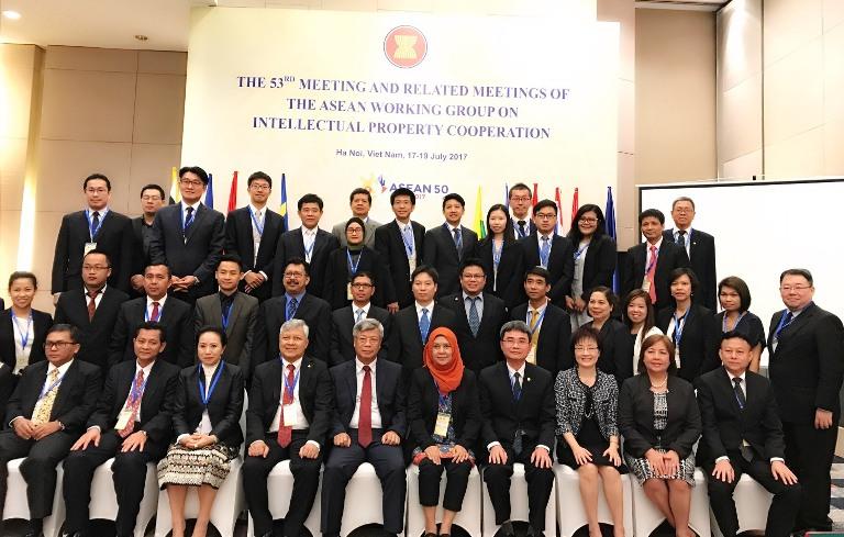 Nhóm công tác về hợp tác sở hữu trí tuệ ASEAN họp tại Việt Nam