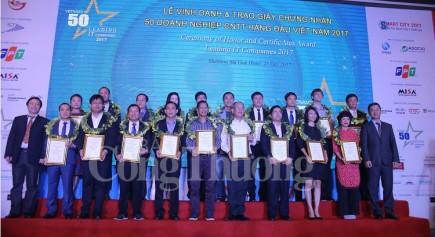 phat dong chuong trinh 50 doanh nghiep cntt hang dau viet nam 2018