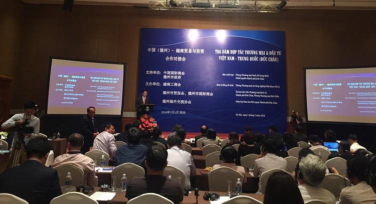 Kết nối hợp tác thương mại và đầu tư Việt Nam – Trung Quốc