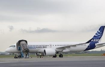 may bay airbus a220 300 den viet nam trong hanh trinh bay trinh dien tai khu vuc chau a