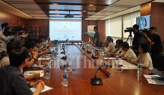 bmf 2019 vinh danh cac dien hinh trong san xuat su dung vat lieu xay khong nung