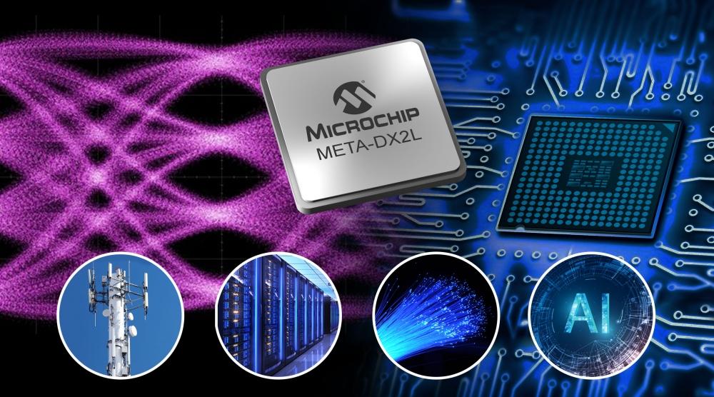 Microchip ra mắt giải pháp META-DX2L nhỏ gọn, băng thông cao