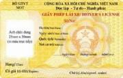 Đổi GPLX thẻ nhựa không phải nộp GCN sức khỏe