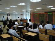Cổ phiếu ngân hàng rớt giá, Vn-Index mất hơn 6 điểm