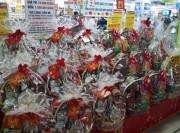 Hàng Việt chiếm ưu thế trong giỏ quà Tết