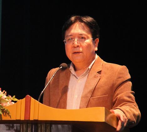 Thứ trưởng Bộ Văn hóa, Thể thao và Du lịch, ông Vương Duy Biên.