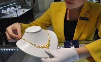 Giá vàng trong nước tăng nhẹ theo thế giới
