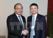 Thủ tướng Nguyễn Xuân Phúc tiếp Chủ tịch Tập đoàn Alibaba Jack Ma