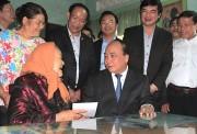 Thủ tướng Nguyễn Xuân Phúc chúc Tết cán bộ, chiến sĩ Quân khu 5