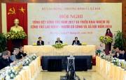 Thủ tướng dự Hội nghị triển khai công tác lao động - người có công và xã hội 2018