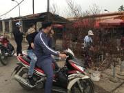 Không đợi đến Tết, người Hà Nội 'đua nhau' chơi đào sớm