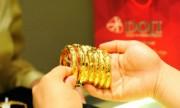 Giá vàng trong nước tăng theo thế giới
