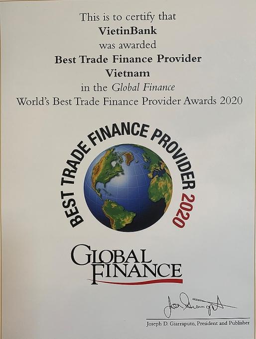 ngan hang viet nam duy nhat 3 nam lien tiep gianh giai thuong cua tap chi global finance