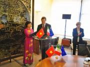 Thương mại, đầu tư Việt Nam - Italia: Khởi sắc