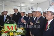 Khánh thành nhà máy thức ăn gia súc 15 triệu USD ở Nghệ An